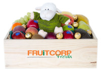 Fresh Fruit Hamper with Aussie Sheep & Ferrero
