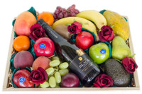 Mixed Fruit with McGuigan Black & Roses