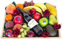 Mixed Fruit with Wyndham Estate Shiraz & Roses