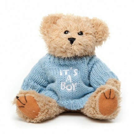 "Message Bear - ""It's a Boy"""