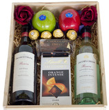 Red and White Wine Indulgence Gift Box