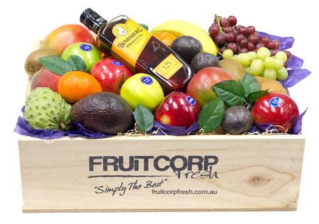 Gift Hamper Bundaberg Rum with Fruit