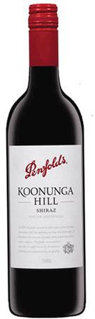 A Bottle Of Penfolds Koonunga Hill Shiraz wine.