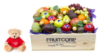 I Love You Gift Hamper with fruit and Ferrero Chocolates