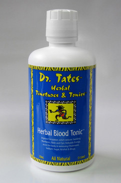 The All-in-One Total Blood Cleanser. Take charge of your health! Cleanse your Kidneys, Liver, Lymph Glands, Blood and Urinary Tract of Salt, Sugar, Cholesterol and Acids quickly and safely. This great product helps improve: Chronic Fatigue Syndrome, Blood Sugar, Arthritis, Lupus, High Blood Pressure, Diabetes, Osteoporosis and Circulation - which reduces Swelling, Numbness, Boils and Cyst. It rebuilds Energy while assisting the body in removing Cholesterol, Sodium and Alcohol!   * Liquid All Natural Herbal Supplement created by world renowned Herbalist Dr. Stephen Tates; * Cleanse, Rebuild, Re-nourish, Restores, Re-generates; * High Blood Pressure, Cholesterol, Lupus, Arthritis, Blood Sugar, Osteoporosis, Circulation; * Reduce swelling, numbness, boils & cysts, cholesterol, sodium, alcohol; * The All-in-One Total Blood Cleanser, Great Absorption Rate, Compliments your vitamins, minerals, and herbs!