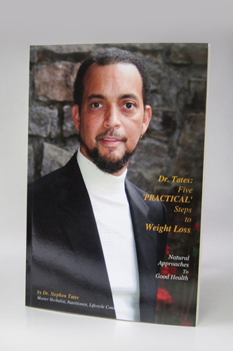Dr. Tates' new book has arrived! Dr. Tates: Five 'PRACTICAL' Steps to Weight Loss is what you have been waiting for. A step-by-by plan to work with our Herbal Blood Tonic and Herbal Fat Burner to help you lose weight and keep it off. Dr. Tates' new book is a guide, a journey and a coach. Take control of your good heath today.