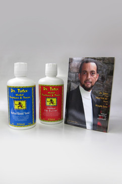 Order your Dr. Tates' Weight Loss Trio Today! Herbal Blood Tonic, Herbal Fat Burner and 'Dr. Tates: Five 'PRACTICAL' Steps to Weight Loss' Book and get $5.00 Off when you purchase the TRIO package.