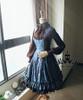 Co-ordinate Show (Blue Ver.) blouse TP00145N