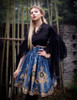Model Show (Dark Blue Version) blouse TP00152 birdcage petticoat UN00027