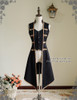 Rococo Lolita Victorian Elegant Gothic Unisex False 2Pcs Long Vest Jacket*2colors
