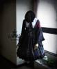 Co-ordinates Show (Black Ver.) beret P00593N, cape/shawl P00588
