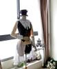 Co-ordinates Show (Ivory Ver.) vest set CT00230, bloomers UN00017, hat P00526, brooch P00586