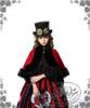Model Show (Red & Black Stripe Ver.) (hat: P00587, cape: CT00179, blouse: TP00142, fan: P00580)