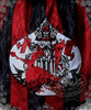 Queen Alice Embroidery on Red & Black Stripe Version