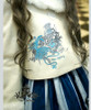 The Queen's Throne Alice Lolita Steampunk Large Embroidery Wool Short Coat*2colors