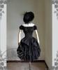 Co-ordinates Show (Black Ver.) (hat: P00574, choker: AD00610, gloves: P00581, skirt: V00002N)