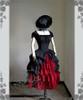 Co-ordinates Show (Black Ver.) (hat: P00574, choker: AD00610, gloves: P00581, skirt: SP00166)
