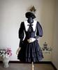 Co-ordinates Show (Black Ver.) blouse TP00103, jacket TP00092N, beret P00406