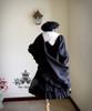 Co-ordinates Show (Black Ver.) blouse TP00103, jacket TP00092N, beret P00406, shawl/cape P00588