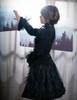 Model Show (Black Version) blouse TP00138 Overskirt SP00162 Birdcage Petticoat UN00027