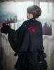 Model Show (Black Version) blouse TP00138 Overskirt SP00162 Birdcage Petticoat UN00027 Shawl P00588