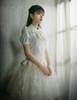 Model Show  (Ivory Version) blouse TP00055N underskirt UN00026