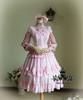 Co-ordinate Show (Antique Pink Ver.) dress DR00130, hairdress P00501