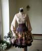 Co-ordinate Show (Front View) (blouse TP00145, skirt underneath: V00002N, petticoat underneath: UN00021)