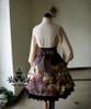 Co-ordinate Show (Back View) (blouse TP00145, skirt underneath: V00002N, petticoat underneath: UN00021)