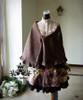 Co-ordinate Show (Front View) (blouse TP00145, cape P00588, skirt underneath: V00002N, petticoat underneath: UN00021)
