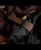 Steampunk Print High Waist 2-Way Knee Length Gathered Buckle Skirt*Instant Shipping