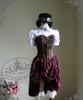 Co-ordinates Show (Deep Brown Ver.) (hat: P00587, blouse & skirt & shorts costume set: C00524)