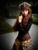 Model Show  headdress P00610 skirt SP00167 blouse TP00150 pannier bloomers UN00024