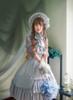 Model Show (Light Grey Ver.) Bonnet P00641, Blouse TP00137N