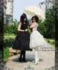 Model Show (White Ver.) (black dress set: DR00178L)