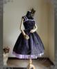 Front View (Violet + Black Ver.) (birdcage petticoat: UN00019)