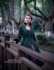 Model Show (Dark green Ver.) dress DR00194, petticoat UN00027