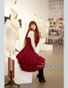 Model View: corset dress DR00066R