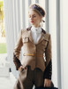 Steel Rose, Military Steampunk Vintage Retro Trench Autumn Uniform Coat*2colors Instant Shipping