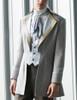 Steel Rose, Steampunk Wedding Elegant Gothic Aristocrat Dandy False 2pcs Tuxedo Jacket* Instant Shipping