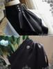 Black Thick Satin Version
