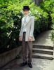 Model View jacket CT00258, pants SP00178, hat P00619, jabot P00516N