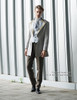Model View jacket CT00258, pants SP00178, jabot P00516N