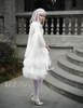 Model Show (White Ver.) (skirt: SP00180, birdcage petticoat: UN00003N, leggings: P00187)