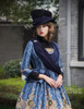 Gothic Lolita Fashion Jacket, Bustle Tuxedo Jacket*black,mint,burgundy,navy blue
