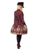 Model Show (Redish black+Burgundy Version) blouse TP00125N hat P00614 dress DR00189