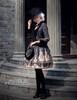 Model Show (Black + Grey Ver.) (hat & sash set: P00614, jacket: CT00268, blouse: TP00125N, tote: P00583, leggings: P00182)