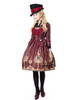 Model Show (Black + Burgundy Ver.) JSK DR00189 blouse TP00125N jacket CT00268