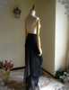 Back View with skirt piece (Black Ver.)