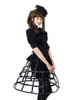 Model View  birdcage petticoat UN00028 bloomers UN00025 shrug CT00229N